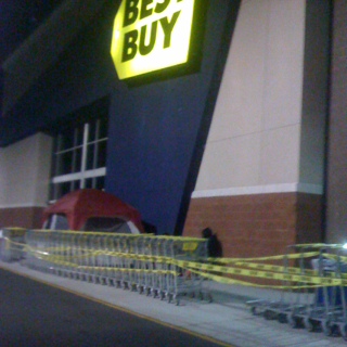 Smaller Lines at Local Best Buy