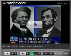Fox News Lincoln-Douglas Graphic Shows Frederick Douglass - Media on The Huffington Post