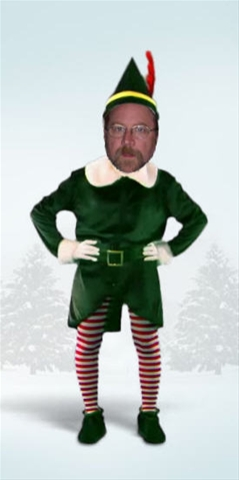 Wicked Stage: Act 2: Today's Christmas Funny: Make An Elf Of Yourself